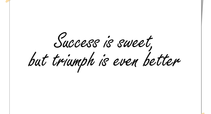 Success-Triumph